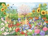 Puzzle Ogród słonecznikowy