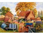 Puzzle Jesień w gospodarstwie