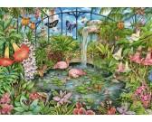 Puzzle Szklarnia tropikalna