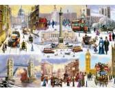 Puzzle Londyn zimą
