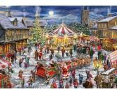 Puzzle Świąteczna karuzela