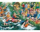 Puzzle Wyścigi wodne
