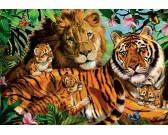 Puzzle Dzikie koty