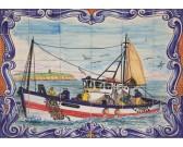 Puzzle Ceramiczna mozaika - port