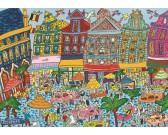 Puzzle Plac w Brukseli