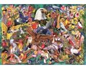 Puzzle Królewstwo zwierząt