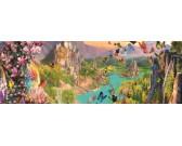 Puzzle Królestwo elfów - PUZZLE PANORAMICZNE