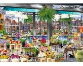 Puzzle Targ kwiatowy w Amsterdamie