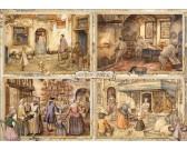 Puzzle Piekarnia w XIX wieku