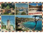 Puzzle Pozdrowienia z Majorki