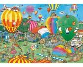 Puzzle Latające balony