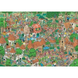 Puzzle Bajkowy las