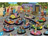 Puzzle Lunapark - autodrom