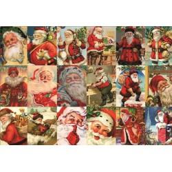 Puzzle Święty Mikołaj - kolaż