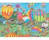 Puzzle Pokaz balonów