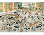 Puzzle Rynek bydła