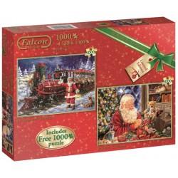 Puzzle Święty Mikołaj - wszystko gotowe