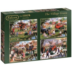 Puzzle Pory roku na wsi
