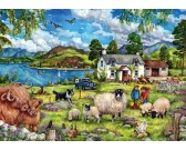 Puzzle Farma w górach
