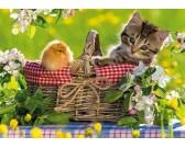 Puzzle Przygotowani na piknik