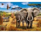 Puzzle Afrykańska sawanna