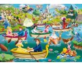 Puzzle Zabawa w wodzie