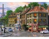 Puzzle Ulica w Paryżu