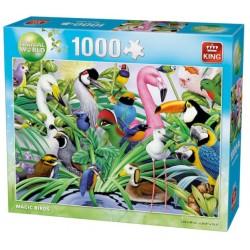 Puzzle Niesamowite ptaki