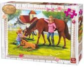 Puzzle Konie ze źrebakiem