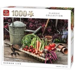 Puzzle Żywy ogród