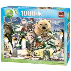 Puzzle Polarne zwierzęta