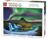 Puzzle Zorza polarna, Islandia