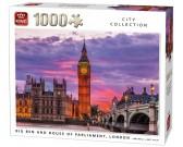 Puzzle Big Ben z parlamentem