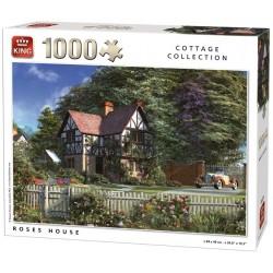 Puzzle Dom wśród róż