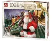 Puzzle Pociąg Świętego Mikołaja