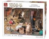 Puzzle Kociaki w stodole