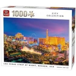 Puzzle Las Vegas w nocy