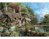 Puzzle Domek nad rzeką