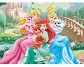 Puzzle Księżniczki z pieskami - PUZZLE DLA DZIECI