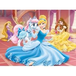 Puzzle Księżniczka z konikiem - PUZZLE DLA DZIECI