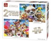 Puzzle Impreza ze zwierzętami