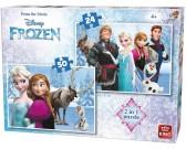 Puzzle Kraina lodu - PUZZLE DLA DZIECI