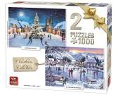 Puzzle Bożonarodzeniowa kolekcja