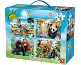 Puzzle Zwierzaki w dżungli - PUZZLE DLA DZIECI