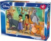 Puzzle Mowgli z przyjaciółmi - PUZZLE DLA DZIECI