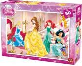 Puzzle Księżniczki w pałacu - PUZZLE DLA DZIECI