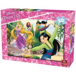 Puzzle Zdolne księżniczki - PUZZLE DLA DZIECI
