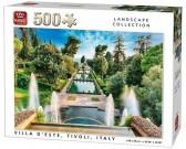 Puzzle Letnia willa Tivoli, Włochy