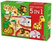 Puzzle Ogród zoologiczny - PUZZLE DLA DZIECI