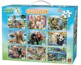 Puzzle Zwierzątka - PUZZLE DLA DZIECI